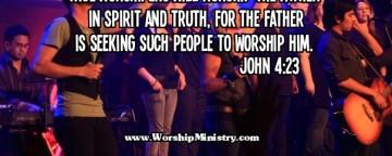 LEADING WORSHIP: THE PRESENCE OF GOD