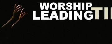 Worship Leading Tips: TALKING