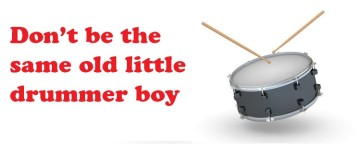 Worship Drumming: Don't be the same old Little Drummer Boy