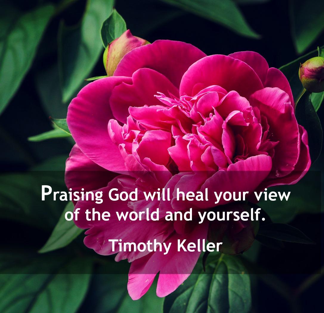 Adoring God Heals Us