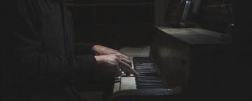 Man at piano