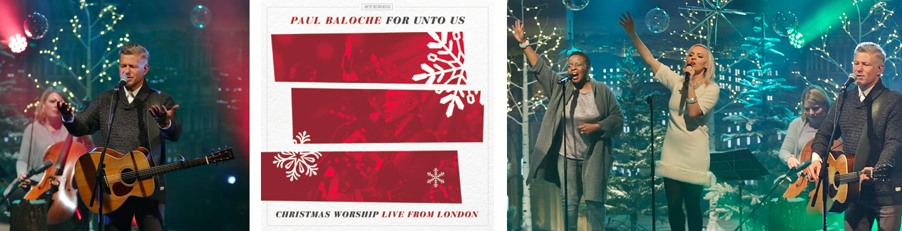 Paul Baloche Releases Holiday Album